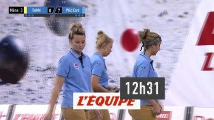Trophée l'Equipe - Triplette Femmes - Poule B - Match 2 - Pétanque - Replay