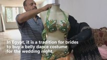 Belly dancing dresses spicing things up in Egyptian marriages