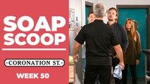 Coronation Street Soap Scoop! Robert faces a backlash