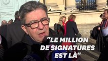 """Avec le million de signatures ADP, """"Macron est pris à son propre piège"""""""