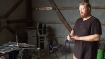 Forged in Fire: Pipe Tomahawks Home Forge Challenge