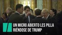 Trudeau, Johnson y Macron hablan sobre Trump en la cumbre de la OTAN