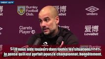 Le lapsus de Pep Guardiola en conférence de presse