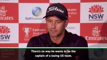 Scott would 'love to stick it to Tiger Woods' at Presidents Cup
