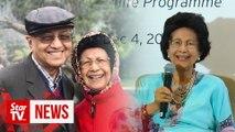 Tun Siti shares 'secret' to a long, healthy life
