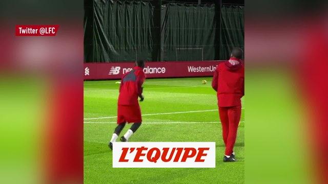 Le bel enchaînement de Wijnaldum et Mané à l'entraînement - Foot - WTF