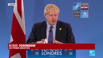 Boris Johnson outlines UK contributions in NATO address