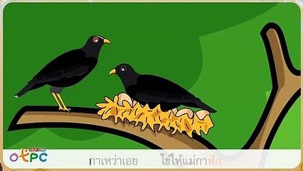 สื่อการเรียนการสอน เพลงกล่อมเด็ก แม่นกกาเหว่า เอยป.2ภาษาไทย