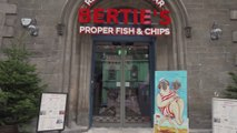 First look inside Bertie's Fish and Chip restaurant in Edinburgh