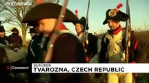 Czech village hosts re-enactment of Napoleon's Battle of Austerlitz