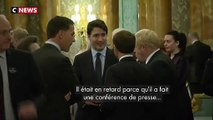 Emmanuel Macron et Justin Trudeau se moquent-ils de Donald Trump