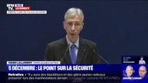 """Le préfet de police de Paris demande à """"l'ensemble des commerces présents sur l'axe de la manifestation du 5 décembre de fermer"""""""
