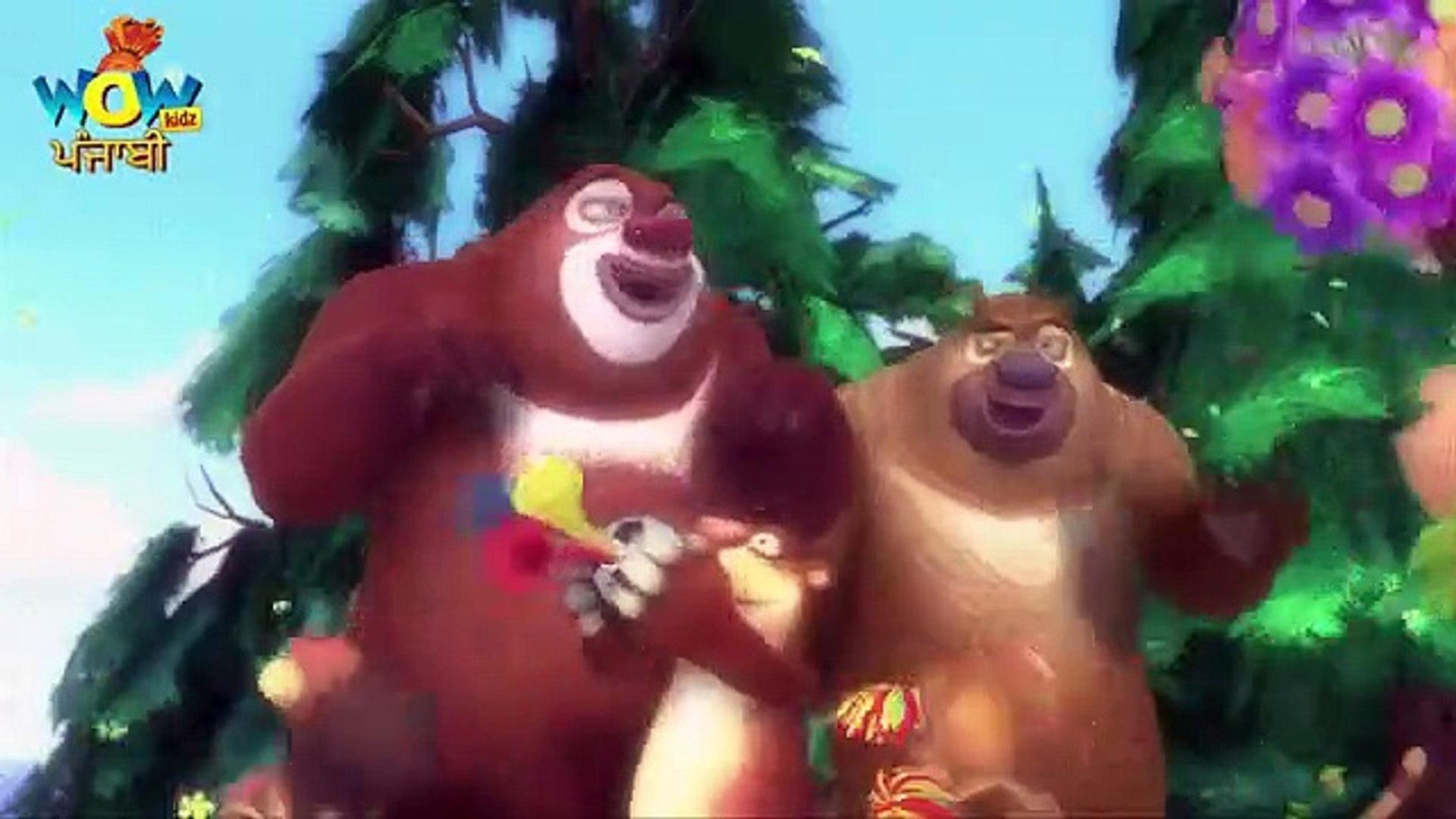 Bablu Dablu In Punjabi Cartoon Forest Frenzy  Episode 02