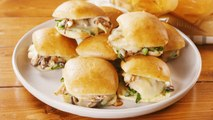 Help! We Can't Stop Eating These Chicken & Mushroom Stuffed Rolls