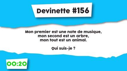 Devinette #156 : Charade