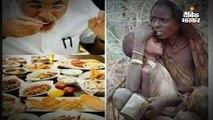 पीएम मोदी और भूख से बेहाल मां-बेटे की तस्वीर की सच्चाई
