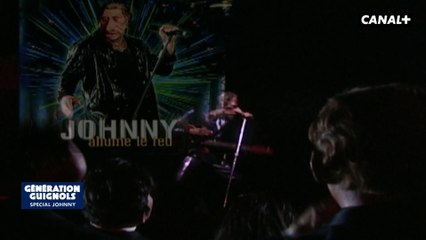 Hommage, Johnny Hallyday - Les Guignols - Canal+