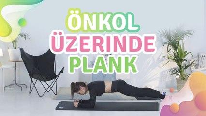 Önkol üzerinde plank - Sağlığa bir Adım