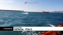 Rare sighting for coastguards as orcas visit Italian coastal waters
