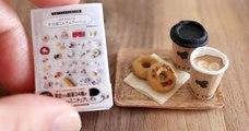 Tomoko Misumi, l'artiste qui réalise des répliques miniatures de plats servis à table