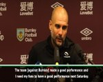 Guardiola calls for City support in Manchester derby