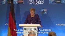 Merkel rechtfertigt Ausweisung russischer Diplomaten