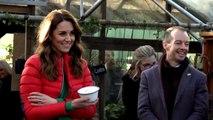 Kate Middleton Picks Out Christmas Trees