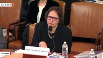 Impeachment Witness Pamela Karlan Says She Ate Pre-Cooked Thanksgiving Turkey