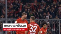 Bundesliga: All Assists of Thomas Müller So Far