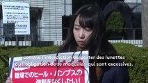 """""""Ces pratiques doivent être revues"""" : une actrice milite contre les dress codes féminins au Japon"""