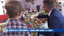A la Une : Aucun train entre Saint-Etienne et Lyon ce jeudi / Saint-Etienne fait son apparition sur la carte météo du 20h / Un livre pour les enfants, les victimes oubliés des violences conjugales /  Bataille de boules de neige dans le Pilat