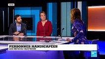 """Handicap en France : """" Il faut qu'on ait accès à tout"""", Anne-Sarah Kertudo"""