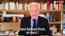 Philippe Labro : « Salut Bernard Pivot, et merci ! »