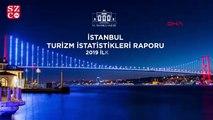 2019'un ilk 10 ayında İstanbul'u 12 milyon 690 bin 376 turist ziyaret etti
