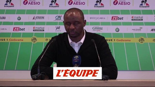 Vieira «Nous avons été catastrophiques» - Foot - L1 - Nice