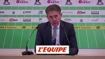 Puel «C'est un match parfait» - Foot - L1 - ASSE