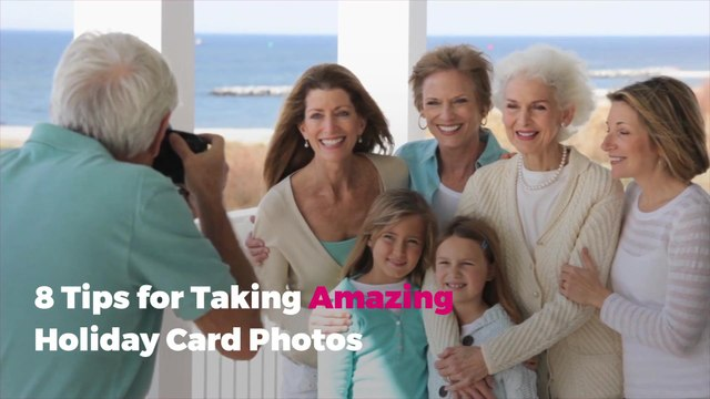 8 Tips for Taking Amazing Holiday Card Photos