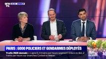 Inquiétant: des pavés sur les Champs-Élysées - 04/12