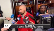 Rex Burkhead Talks Improving From Loss and The Chiefs