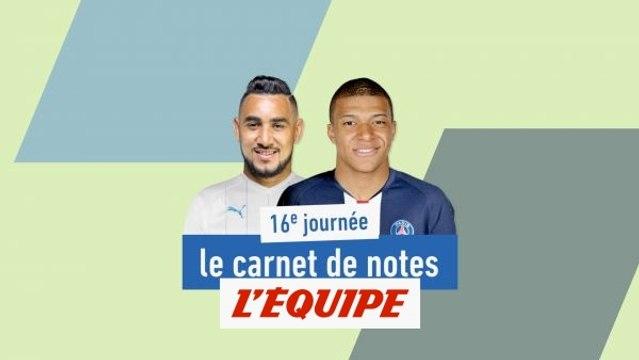 De Payet à Mbappé, le carnet de notes de la 16e journée - Foot - L1