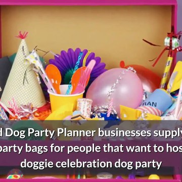 Great Pet Business Ideas - Dog Party Planner