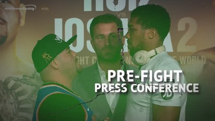 War of words continues between AJ and Ruiz ahead of rematch