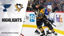 NHL Highlights | Blues @ Penguins 12/04/19