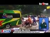 Hujan dan Angin Kencang di Jakarta, Cawang Mulai Banjir