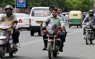 गुजरात सरकार ने बिना हेल्मेट और टू व्हीलर पर ट्रिपलिंग से जुर्माना हटाया
