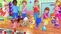 Baby John Does the Chicken Dance - Little Angel Nursery Rhymes & Kids Songs