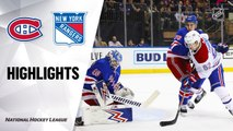 NHL Highlights | Canadiens @ Rangers 12/06/19