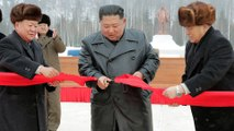 North Korean leader Kim opens socialist utopian resort and warns US about a 'Christmas gift'
