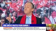 Excédé ce matin par son invité dans la matinale de BFM TV, le présentateur Christophe Delay lui lance  Stop Stop ! On nest pas chez Pascal Praud ici !