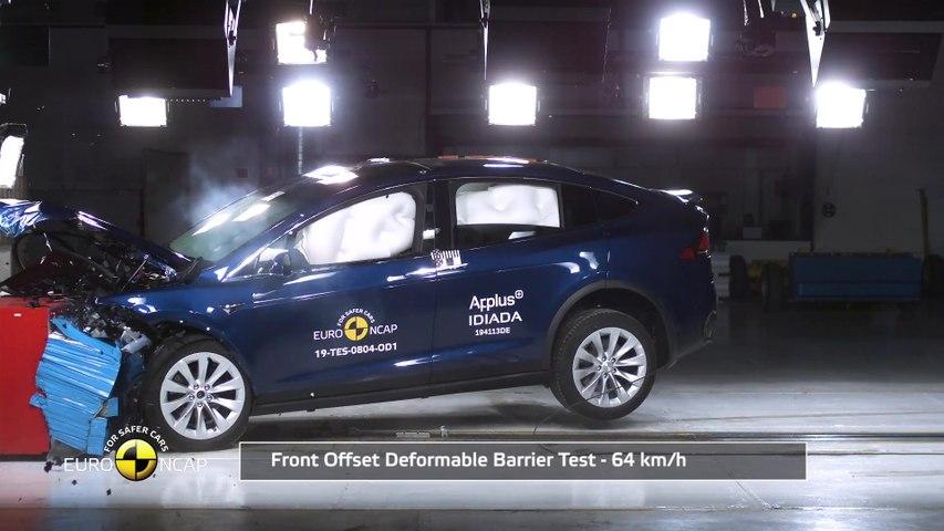 Tesla Model X - Crash & Safety Tests 2019